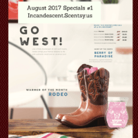 August 2017 Specials #1Incandescent.Scentsy.us (1) | BECOME A SCENTSY CONSULTANT AND JOIN OUR TEAM! FREE WARMER WHEN YOU JOIN IN JULY 2017!