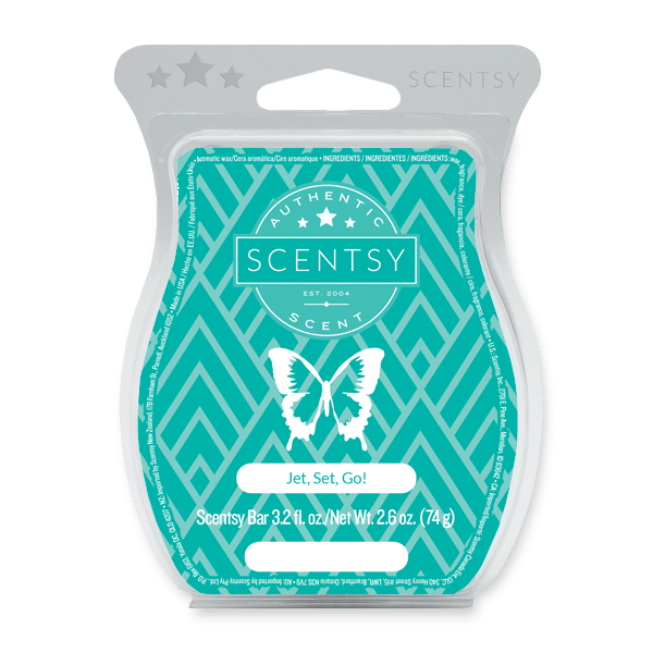 JET SET GO! SCENTSY BAR | BRING BACK MY BAR JUNE 2021