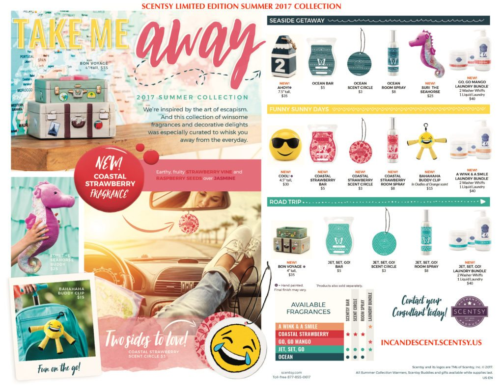 SCENTSY LIMITED EDITION 2017 SUMMER COLLECTION   Shop the Limited Edition Scentsy Summer June 2017 Warmer & Fragrance Collection   Scentsy® Online Store   Scentsy Warmers & Scents   Incandescent.Scentsy.us