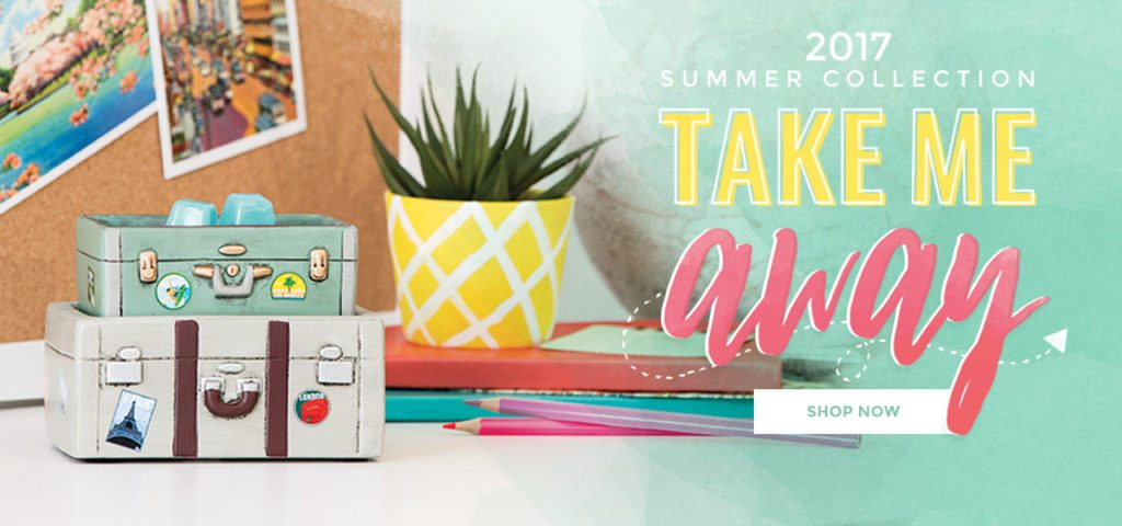 SCENTSY SUMMER COLLECTION ROAD TRIP   Shop the Limited Edition Scentsy Summer June 2017 Warmer & Fragrance Collection   Scentsy® Online Store   Scentsy Warmers & Scents   Incandescent.Scentsy.us
