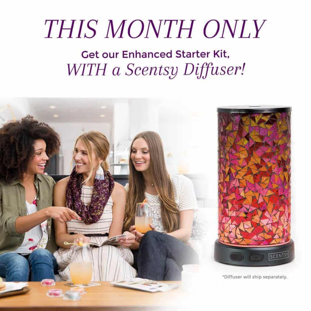 JOIN SCENTSY AUGUST 2017 DIFFUSER OPTION   Join Scentsy in August 2017 - Enhanced Starter Kit & Option to get a Scentsy Diffuser Kit   Scentsy® Online Store   Scentsy Warmers & Scents   Incandescent.Scentsy.us