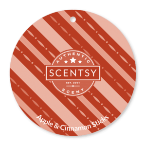 APPLE AND CINNAMON STICKS SCENTSY SCENT CIRCLE