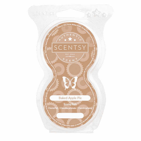 BAKED APPLE PIE SCENTSY POD TWIN PACK | Baked Apple Pie Scentsy Pods | Incandescent.Scentsy.us