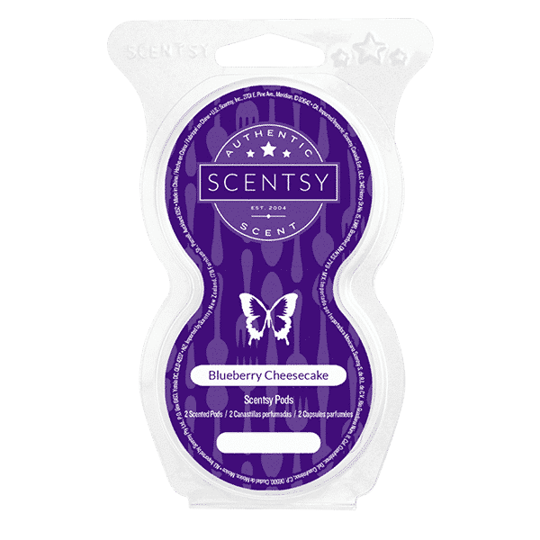 NEW! BLUEBERRY CHEESECAKE SCENTSY GO POD BEADS | SCENTSY GO | Shop Scentsy | Incandescent.Scentsy.us
