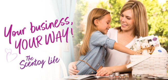 JOIN SCENTSY - BUSINESS YOUR WAY