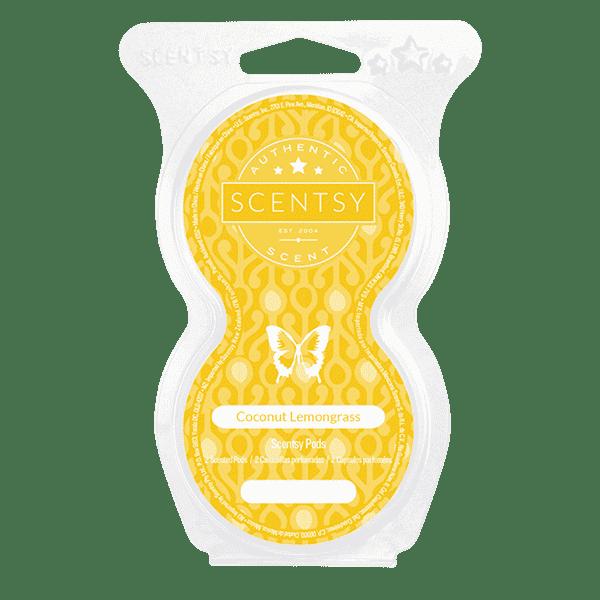 COCONUT LEMONGRASS SCENTSY POD TWIN PACK | Coconut Lemongrass Scentsy Pods | Incandescent.Scentsy.us