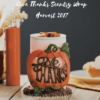 GIVE THANKS SCENTSY WARMER WRAP