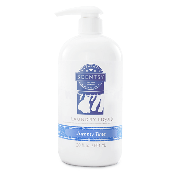Jammy Time Scentsy Laundry Liquid | Shop Scentsy | Incandescent.Scentsy.us