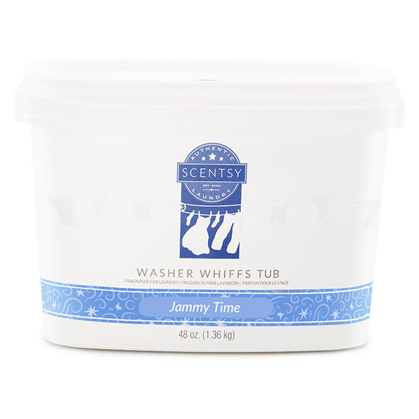 Jammy Time Scentsy Washer Whiffs Tub | Shop Scentsy | Incandescent.Scentsy.us