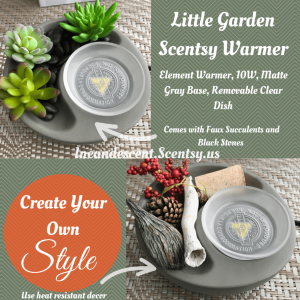Little Garden Scentsy Warmer   Shop Scentsy   Incandescent.Scentsy.us