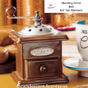 MORNING COFFEE GRIND SCENTSY WARMER