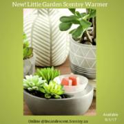 LITTLE GARDEN SCENTSY WARMER