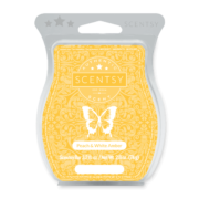 PEACH AND WHITE AMBER NO. 82 SCENTSY BAR