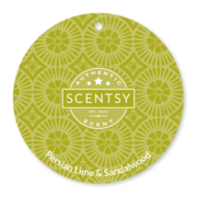 PERSIAN LIME AND SANDALWOOD NO. 48 SCENTSY SCENT CIRCLE