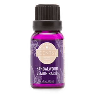 SANDALWOOD LEMON BASIL 100% NATURAL SCENTSY OIL