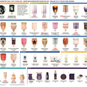 SCENTSY FALL 2017 CATALOG ROLL OUT PAGE 2
