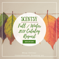 SCENTSY FALL WINTER 2017 2018 CATALOG REQUEST