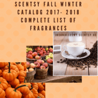 Scentsy fall winter catalog 2017- 2018 COMPLETE SCENT LIST   New Scentsy 2018 Incentive Trip...Mediterranean Cruise on Symphony of the Seas