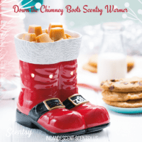 DOWN THE CHIMNEY BOOTS SCENTSY WARMER