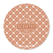 GINGERBREAD DONUT SCENTSY SCENT CIRCLE
