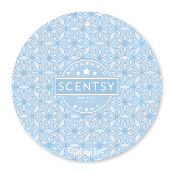 GLACIAL ICE SCENTSY SCENT CIRCLE