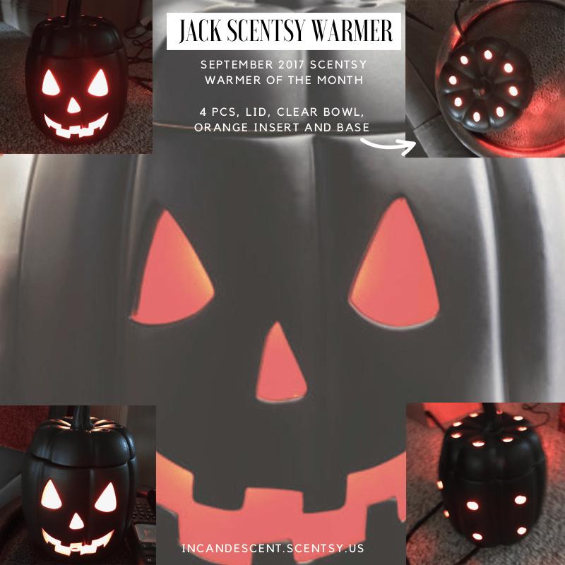 JACK SCENTSY WARMER SEPTEMBER 2017 INCANDESCENT.SCENTSY.US | SCENTSY SEPTEMBER 2017 WARMER AND SCENT OF THE MONTH ~ JACK SCENTSY WARMER & MANDARIN TOFFEE TREAT FRAGRANCE