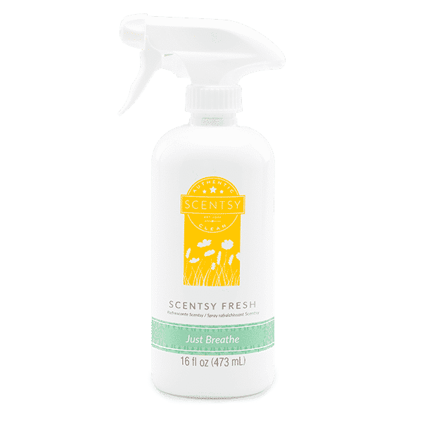 JUST BREATHE SCENTSY FRESH | NEW! JUST BREATHE SCENTSY FRESH LINEN SPRAY | Shop Scentsy | Incandescent.Scentsy.us