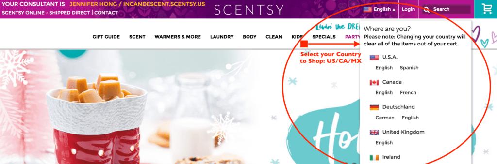 SCENTSY SHOP CANADA MEXICO   Ordering Scentsy in Canada and Mexico