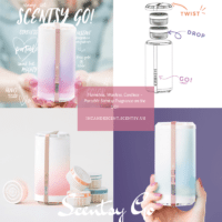 SCENTSY GO...the New Portable Scentsy Fragrance Delivery System