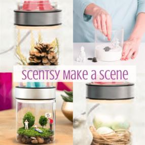 SCENTSY MAKE A SCENE WARMER & ACCESSORIES