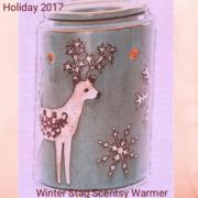 WINTER STAG SCENTSY WARMER