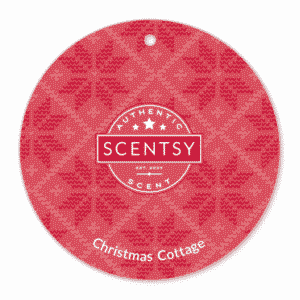CHRISTMAS COTTAGE SCENTSY SCENT CIRCLE | CHRISTMAS COTTAGE SCENTSY SCENT CIRCLE