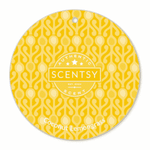 COCONUT LEMONGRASS SCENTSY SCENT CIRCLE