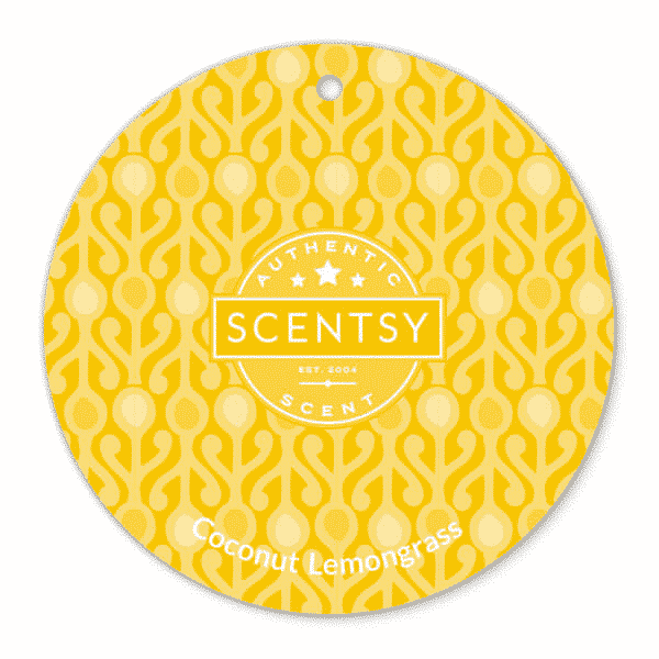 COCONUT LEMONGRASS SCENTSY SCENT CIRCLE | Shop Scentsy | Incandescent.Scentsy.us