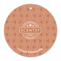 COCONUT PUMPKIN PIE SCENTSY SCENT CIRCLE