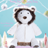 SCENTSY BUDDY CLOTHES: FUR LINED COAT