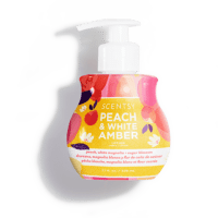 PEACH AND WHITE AMBER SCENTSY BODY LOTION