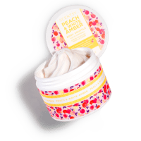 PEACH & WHITE AMBER SCENTSY BODY SOUFFLE