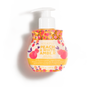 PEACH AND WHITE AMBER VANILLA HAND SOAP