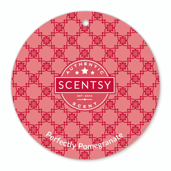 PERFECTLY POMEGRANATE SCENTSY SCENT CIRCLE | PERFECTLY POMEGRANATE SCENTSY SCENT CIRCLE | Shop Scentsy | Incandescent.Scentsy.us