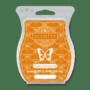 PUMPKIN CINNAMON SWIRL SCENTSY BAR | Pumpkin Cinnamon Swirl Scentsy Bar | Incandescent.Scentsy.us