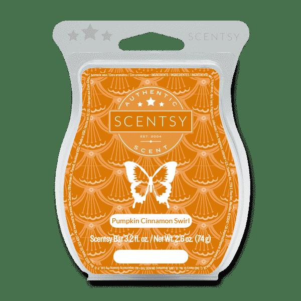 Pumpkin Cinnamon Swirl Scentsy Bar