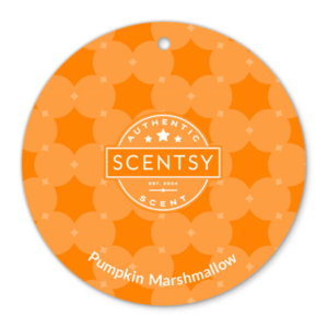 PUMPKIN MARSHMALLOW SCENTSY SCENT CIRCLE