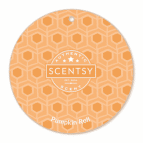 PUMPKIN ROLL SCENTSY SCENT CIRCLE
