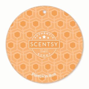 PUMPKIN ROLL SCENTSY SCENT CIRCLE | Pumpkin Roll Scentsy Scent Circle | Incandescent.Scentsy.us