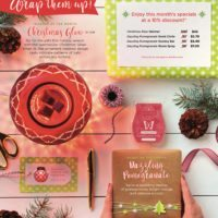 SCENTSY DECEMBER 2017 WARMER & SCENT OF THE MONTH | JOIN SCENTSY IN OCTOBER 2017 - EARN A SCENTSY GO FOR FREE!