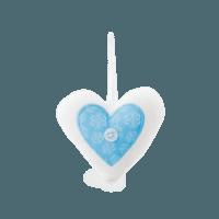 SCENTSY ESKIMO KISS FABRIC HEART ORNAMENT INCANDESCENT.SCENTSY.US