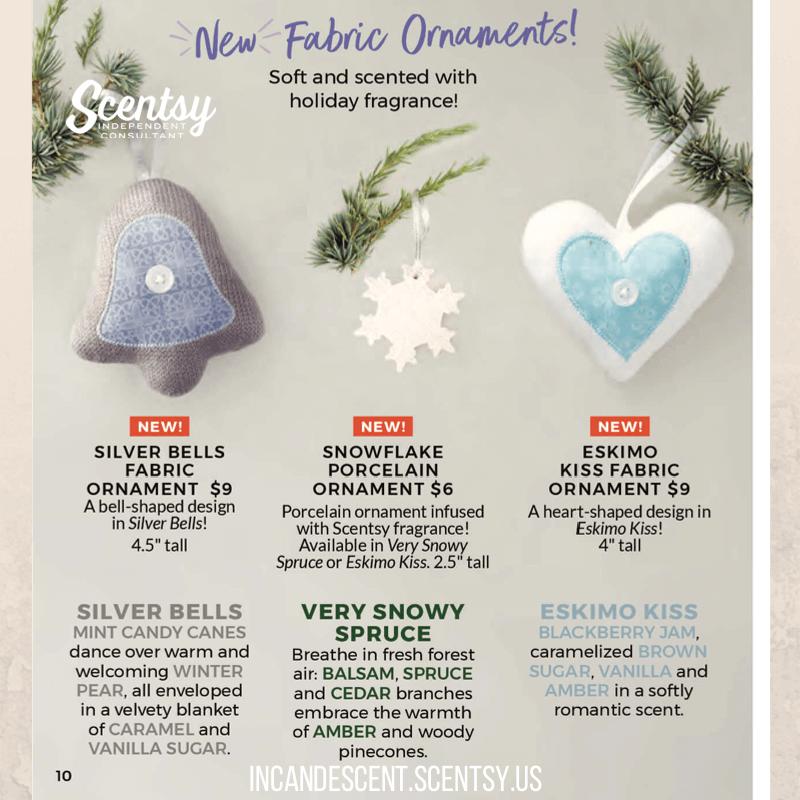 SCENTSY ESKIMO KISS SNOWFLAKE CHRISTMAS SCENTSY ORNAMENT 2017 ...