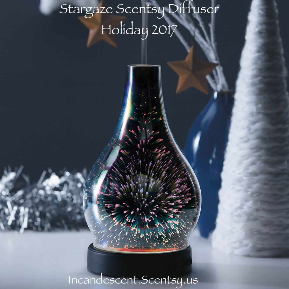 SCENTSY STARGAZE DIFFUSER - LIMITED EDITION HOLIDAY 2017