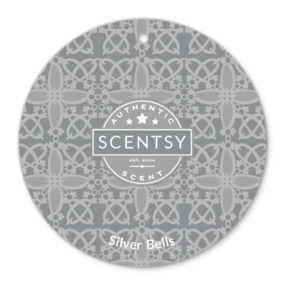 Silver Bells Scentsy Scent Circle